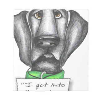 Shaming the Dog Black Lab Memo Note Pads