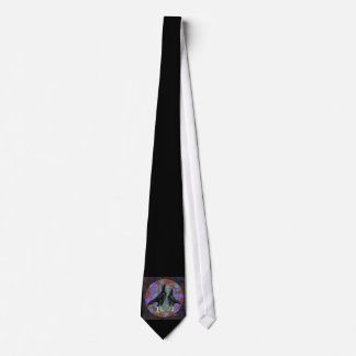 Shamo:  Black Pair Neck Tie