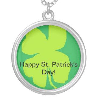 Shamrock '11, Happy St. Patrick's Day! Custom Necklace