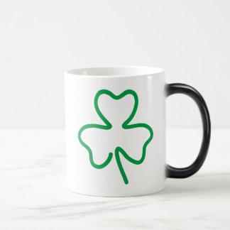Shamrock 11 Oz Magic Heat Color-Changing Coffee Mug