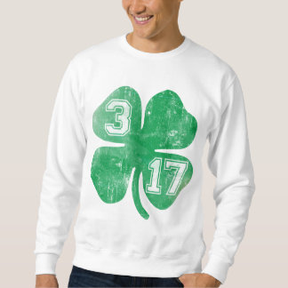Shamrock 3/17 St Patricks Day Sweatshirt