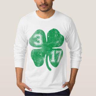 Shamrock 3/17 St Patricks Day T-Shirt