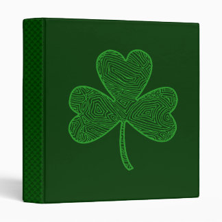 Shamrock 3 Ring Binder
