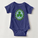 Shamrock and Knotwork Baby Bodysuit