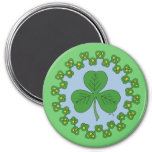 Shamrock and Knotwork Magnet