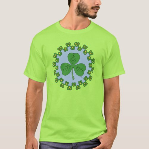 Shamrock and Knotwork