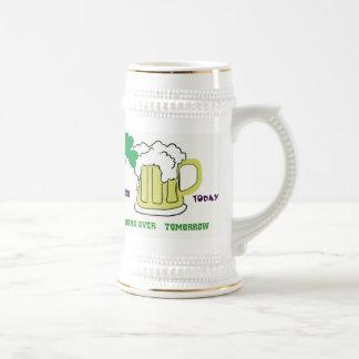 Shamrock, and Mog of Beer Stien Mug
