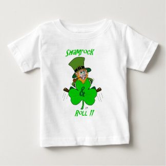 Shamrock and Roll Baby T-Shirt