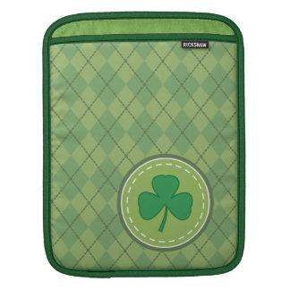 Shamrock Argyle iPad Sleeve