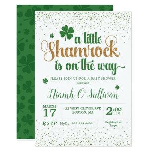 Irish Baby Shower Invitations Zazzle