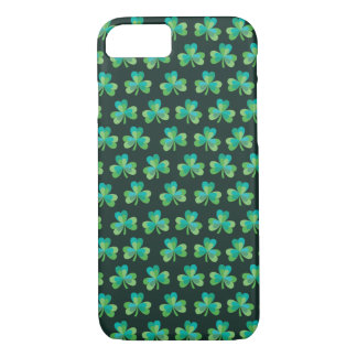 Shamrock Black iPhone 7 Barely There Case