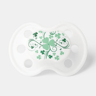 Shamrock blossom baby pacifier