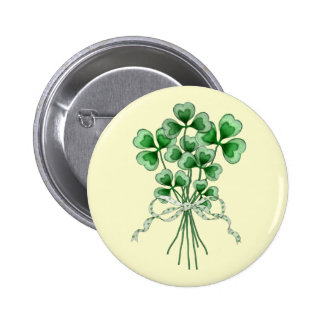 Shamrock Bouquet 2 Button