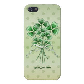 Shamrock Bouquet Cover For iPhone SE/5/5s