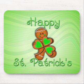 SHAMROCK BOY HAPPY ST. PATRICKS by SHARON SHARPE Mouse Pad