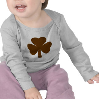 Shamrock Brown The MUSEUM Zazzle Gifts Tee Shirts