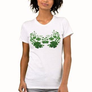 Shamrock & Butterfly Petite T Shirt