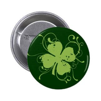 Shamrock Button