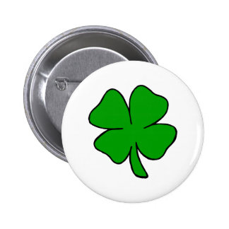 Shamrock Pinback Buttons