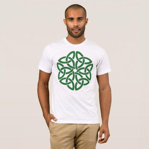 Shamrock Celtic Art Knotwork Design