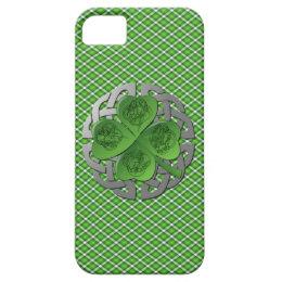 Shamrock - Celtic Knot - 4 Evangelists iPhone SE/5/5s Case