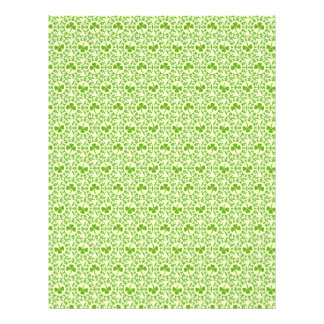 Shamrock Circles Dual-sided Scrapbook Paper