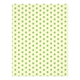 Shamrock Circles Dual-sided Scrapbook Paper 2