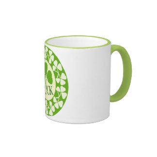 Shamrock Circles Mug