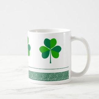 Shamrock Classic White Coffee Mug