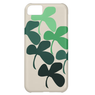 Shamrock clover iPhone 5C cover