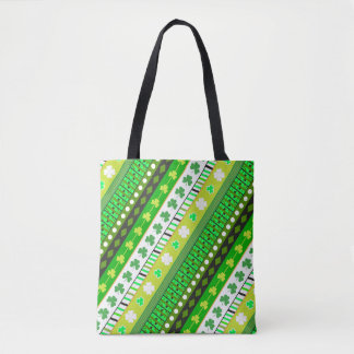 Shamrock, clover Patrick's day Tote Bag