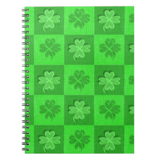 Shamrock Clovers Notebook