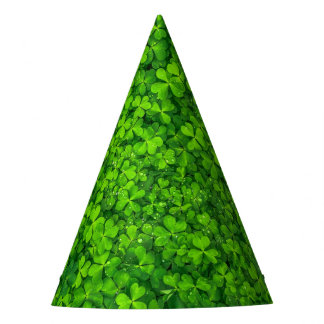 Shamrock Clovers Photography Irish Saint Patrick Party Hat