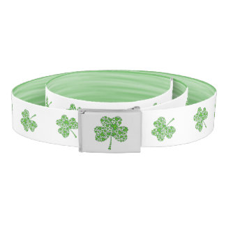 Shamrock Collage Belt