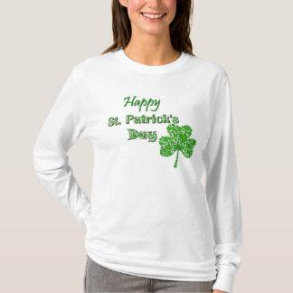 Shamrock Collage Happy St. Patrick's Day T-Shirt