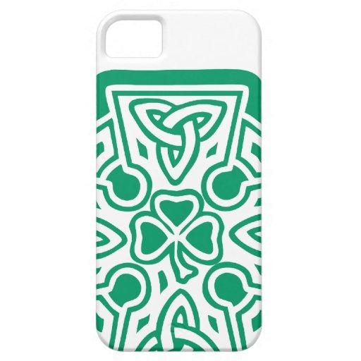 Shamrock cross iPhone 5 case