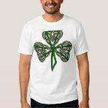 Shamrock Cross Knot Tee Shirts