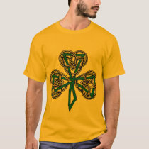 Shamrock Cross Knotwork T-Shirt