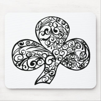 Shamrock Design Mouse Pad
