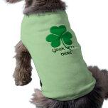 Shamrock Dog T Shirt