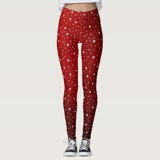 shamrock elegant leggings colored festive modern