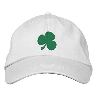 Shamrock Embroidered Hats