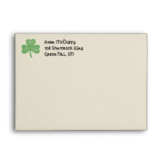 Shamrock Envelopes