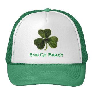 shamrock, Erin Go Bragh Trucker Hat