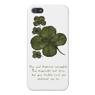 Shamrock Fields Covers For iPhone 5