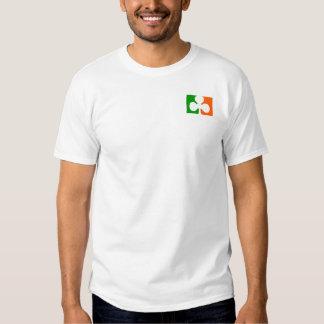 Shamrock Flag - pocket size T-Shirt