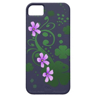 Shamrock Flowers iPhone5 Universal Case