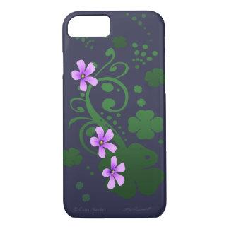Shamrock Flowers iPhone 7 Case