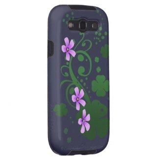 Shamrock Flowers Samsung Galaxy S3 Case