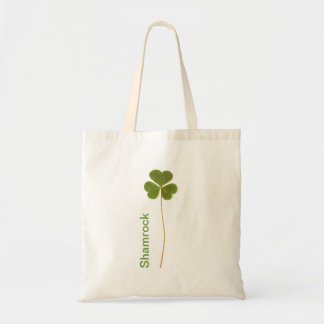 Shamrock for Saint Patrick s Day Canvas Bags